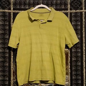 Green Alfani polo shirt